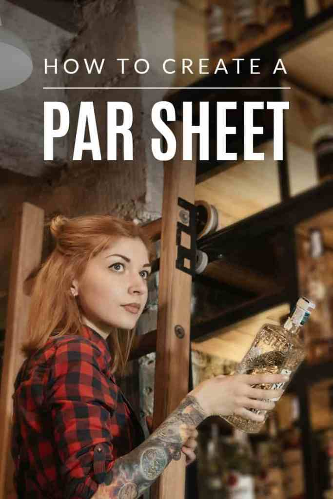 How to Create a Par Sheet