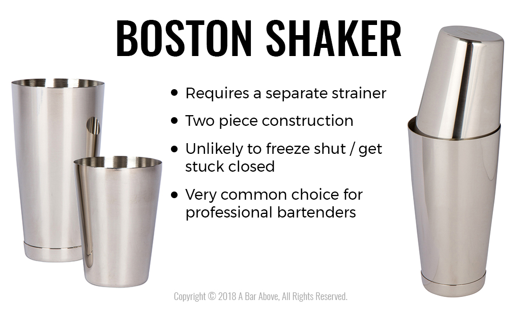 Boston Shaker Pros and Cons