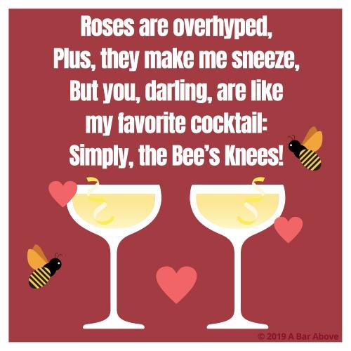 Bartender Valentine - Bees Knees
