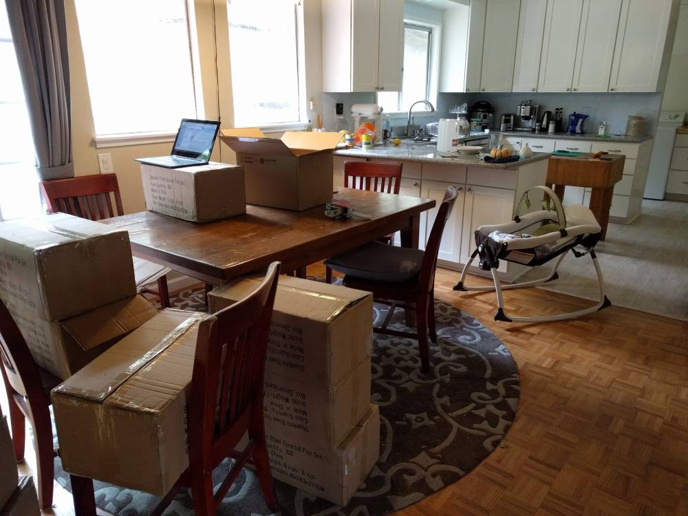 Shipment in our House