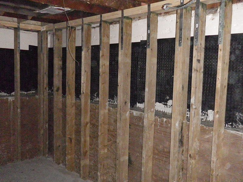 PWF foundation  Basement Wall System Repairs  Abarent