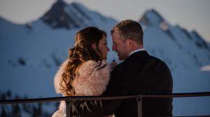 Vanessa & Collin Kicking Horse Mountain