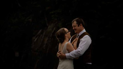 Elopement @ Cathedral Mountain Lodge