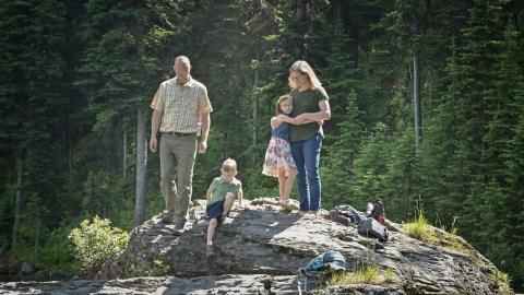 Family Adventure Session @ Dainard Lake