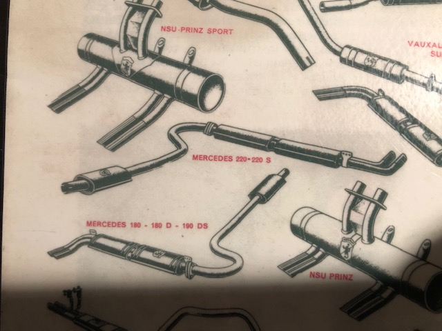 mercedes abarth exhausts
