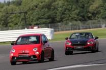 Me Chasing Down a Competizione at Silverstone