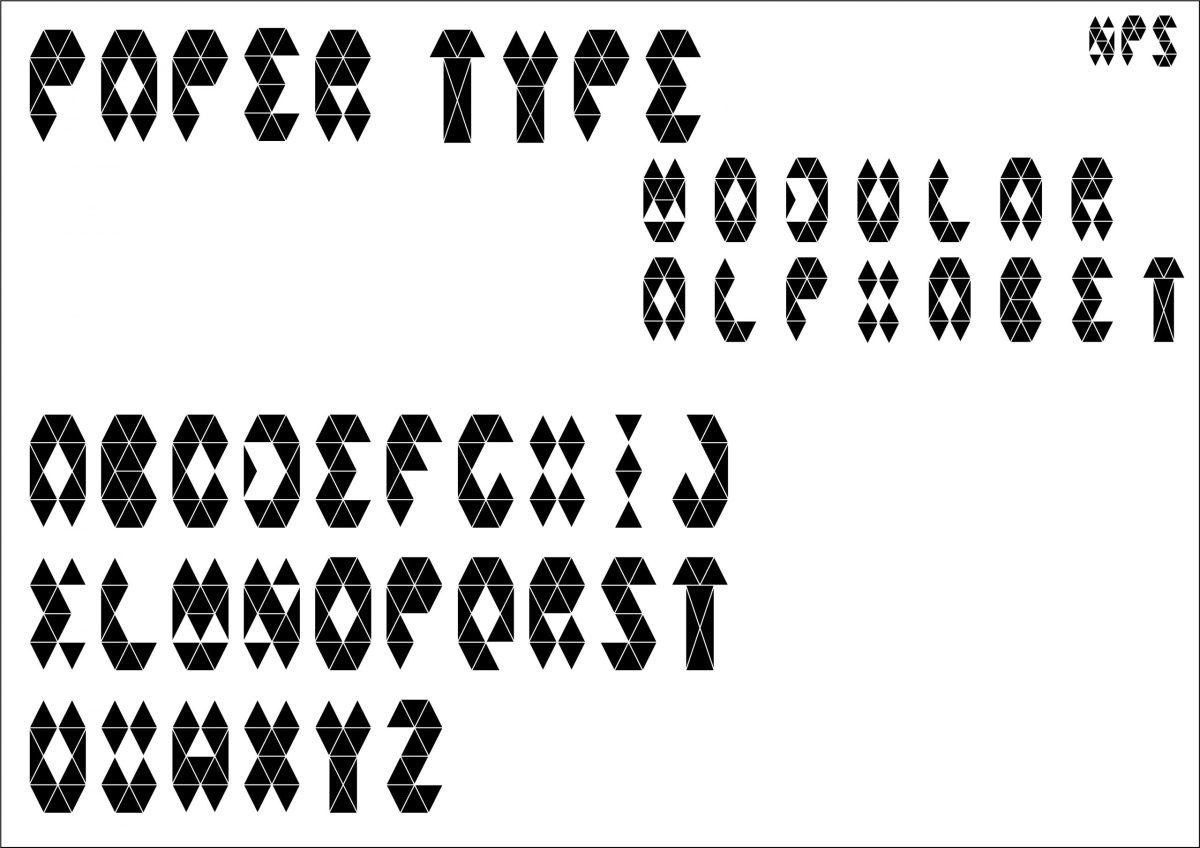 Tipografia modulare