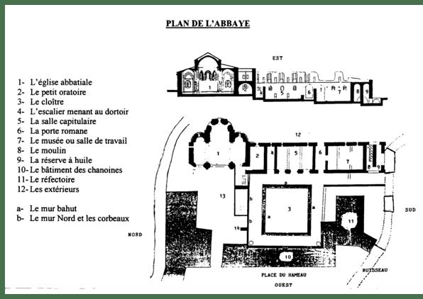 plan-abbaye-de-fontcaude-occitanie