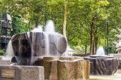 Brunnen auf dem Löwenplatz