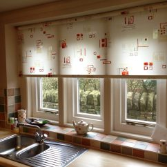 Kitchen Blinds Hardware For White Cabinets Roller Abbey Uk