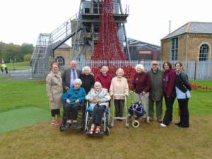 The Grove residents at Woodhorn
