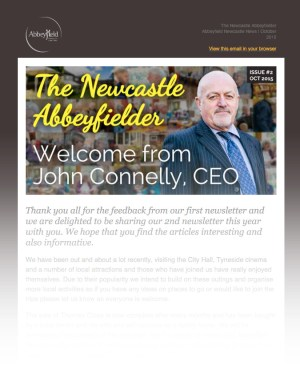Abbeyfield Newcastle newsletter issue 2