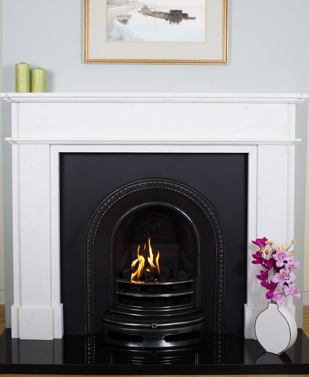 Sheldon Fireplace Interior  Abbey Fireplaces