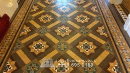finish waxing minton tile floor in walsall west midlands