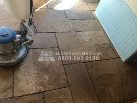 sandstone cleaning long eaton dirty sandstone floor