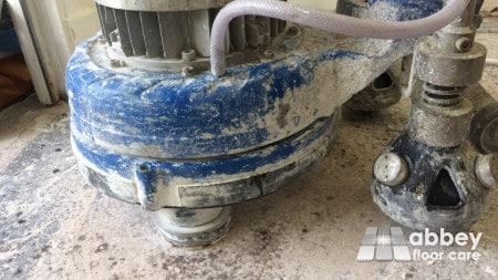 terrazzo floor polishing and grinding equipment