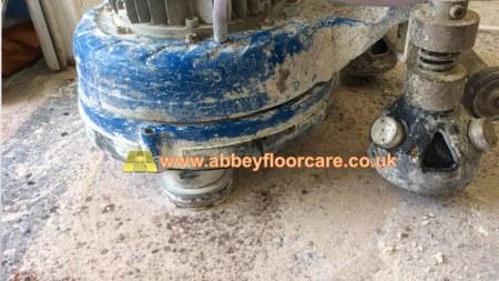 terrazzo grinding Abbey Floor Care