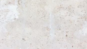 Back face of filled travertine tile