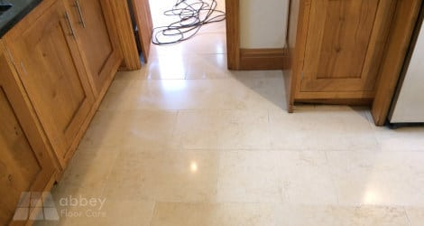 limestone honing to mid-sheen finish