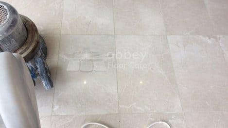 start marble powder polsihing