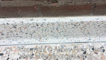 image of how to clean terrazzo skirting - Abbey Floor Care