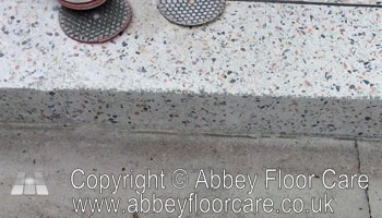 showing how to clean terrazzo stourbridge - Abbey Floor Care