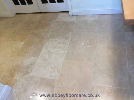 sealing travertine tiles alton hampshire abbey floor care