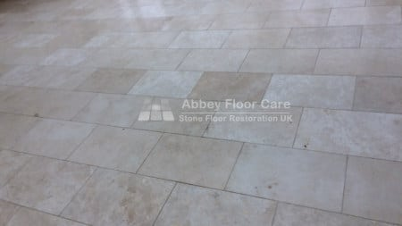 travertine floor cleaning abbotts bromley staffordshire Abbey Floor Care 0800 695 0180