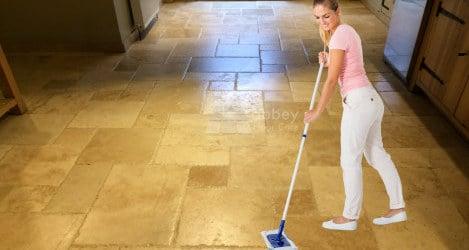 sealing tumbled travertine tiles in kings lynn norfolk