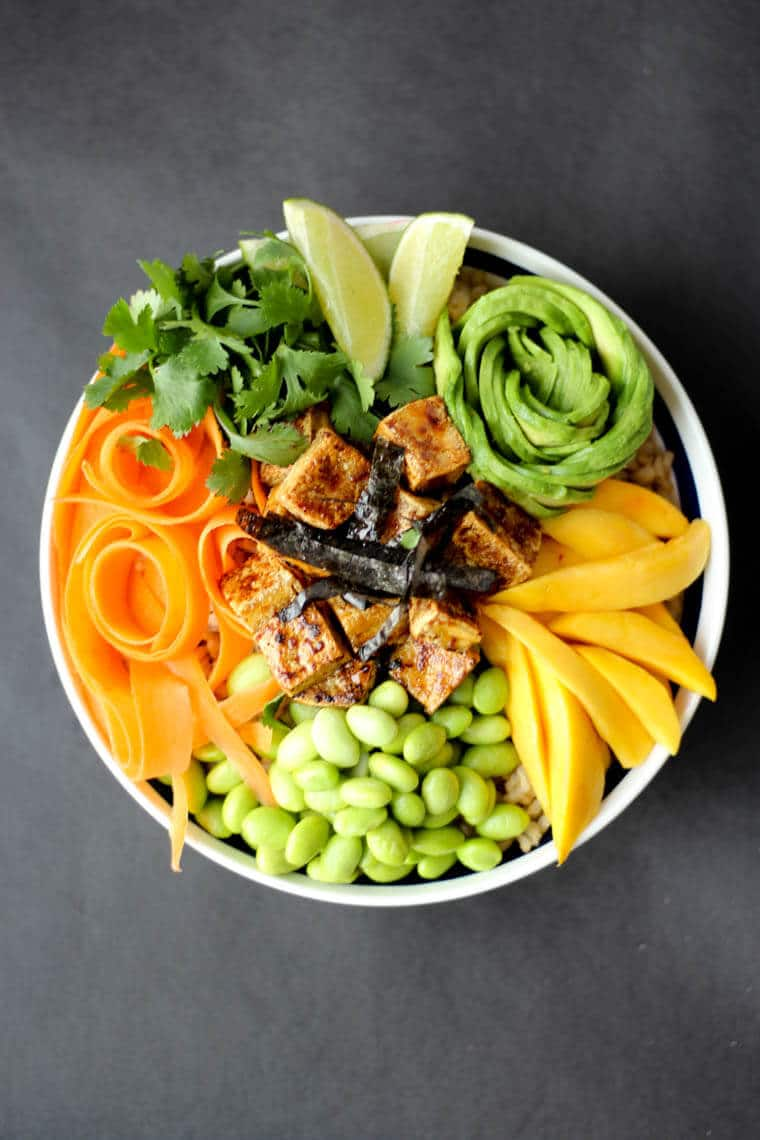 Vegan Poke Bowls with Crispy Tofu  3 Takes on Gluten Free Power Bowls  Abbeys Kitchen