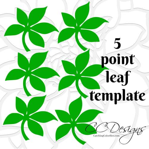 small-leaf-template