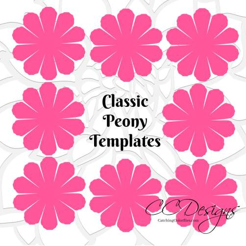 small-peony-flower-template