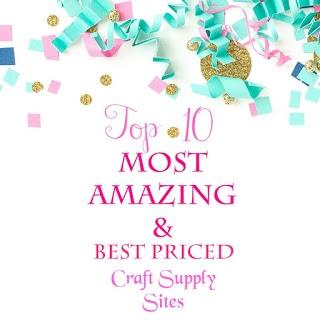 best priced craft supply websites