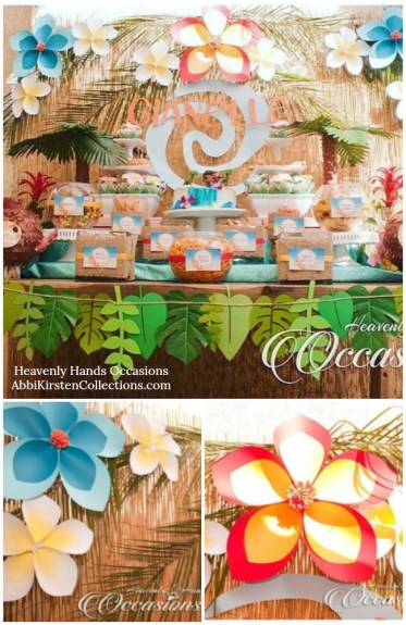 Hawaiian giant paper flower tutorial
