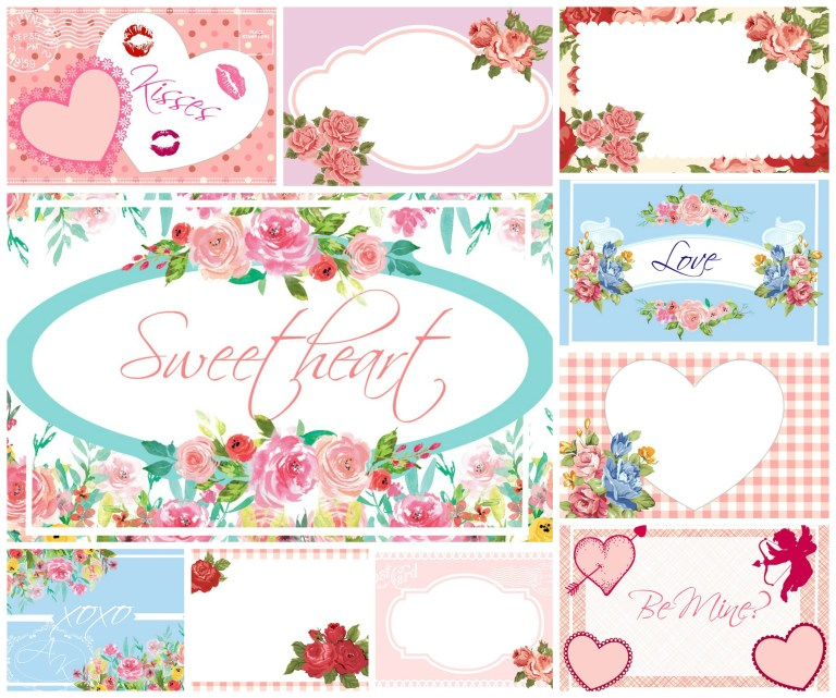 Valentines Day Free Printable Tags