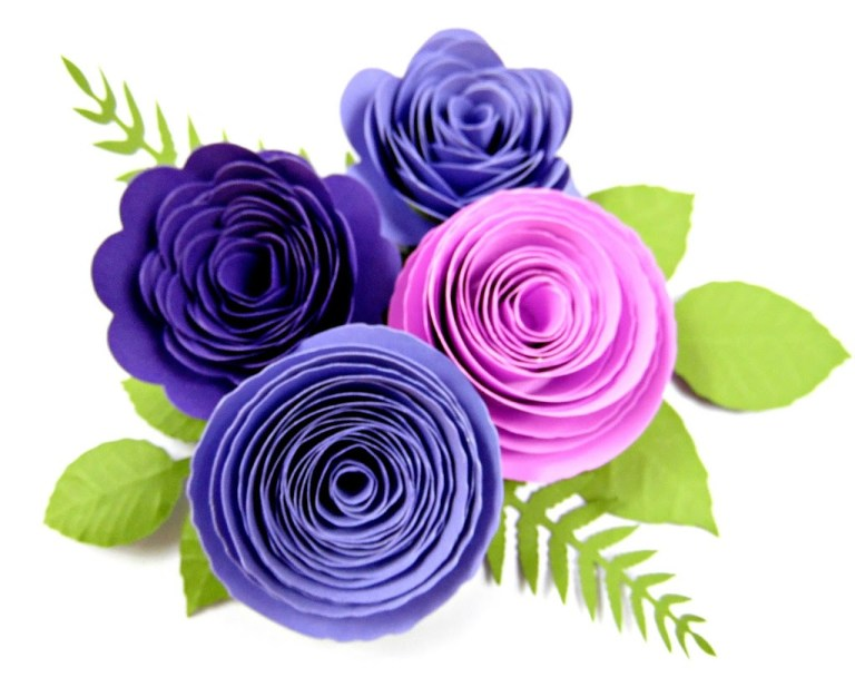 Paper Flower Centers: 5 Ways to Make Centers for Giant Flowers