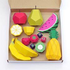 Papercraft Fruit