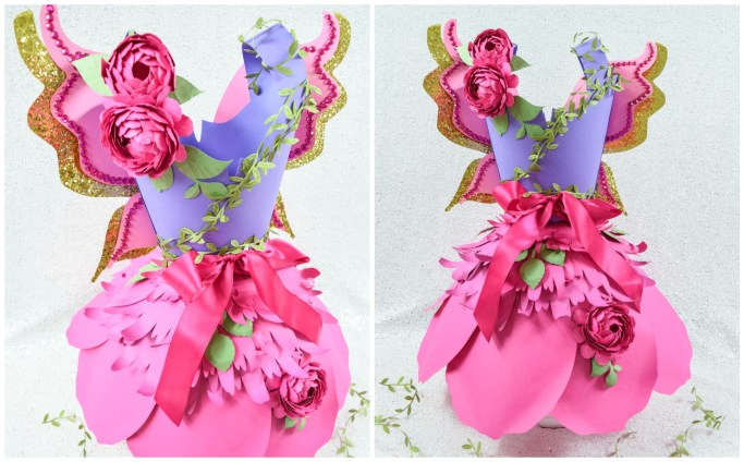 Paper Dress Template: How to Make a Paper Dress - DIY Tutorial