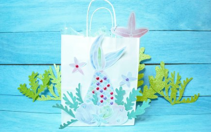 Mermaid gift bag