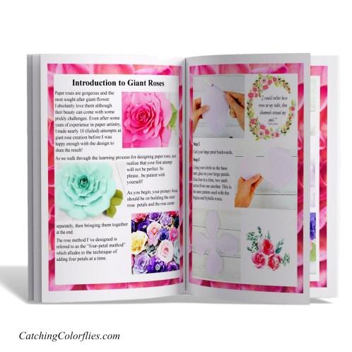 Bella Rose DIY Paper Flower Tutorial