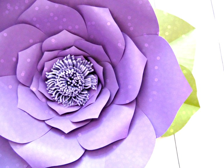 How to Make Giant Paper Flowers – Step by Step Tutorial