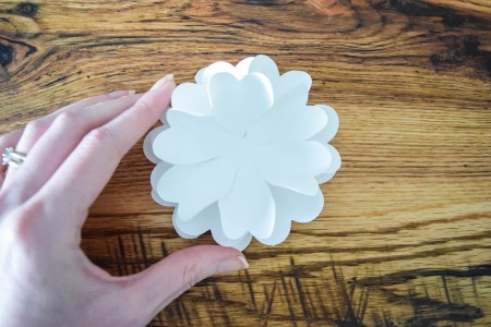 How to Make Paper Flower pomanders