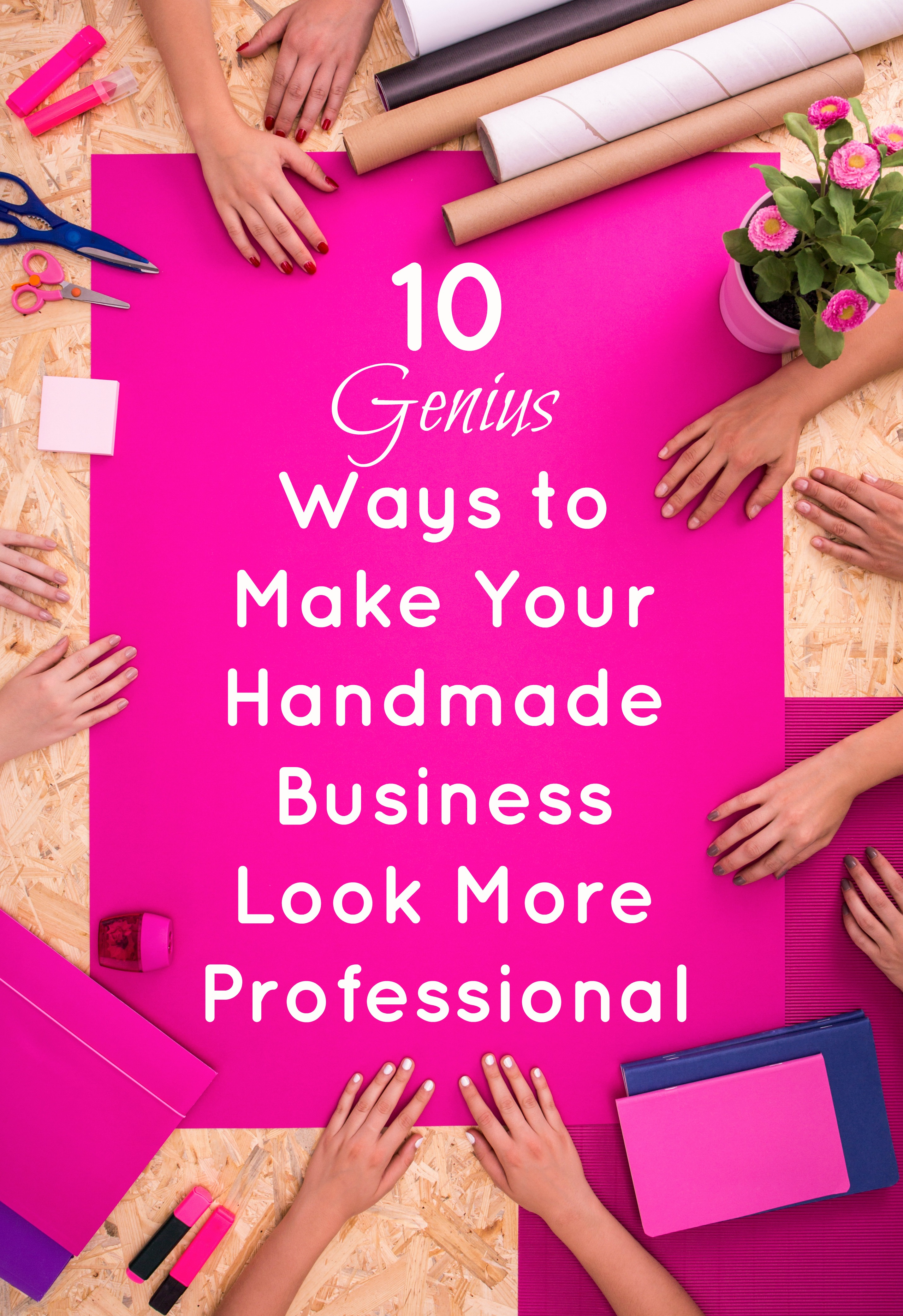 How to Make Your Website Look More Professional: 10 Tips for Handmade Businesses