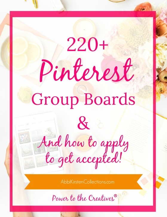 How to join pinterest group boards. Where to find the best group boards.