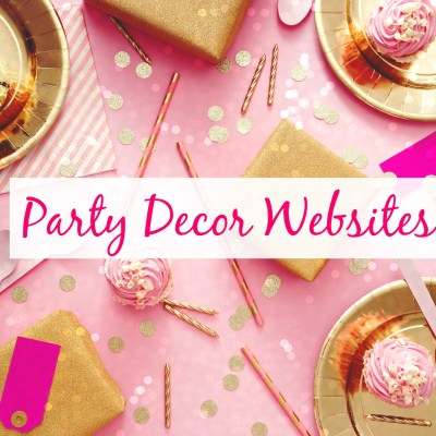 Party Decor Websites: 16 Best Handmade Party Supply Shops
