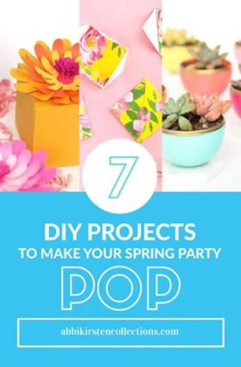 7 DIY Projects to Make Your Spring Party Pop