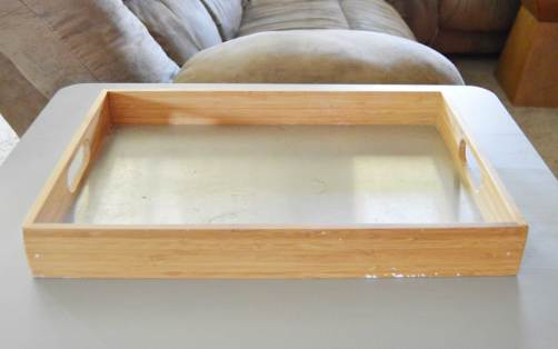 Farmhouse Wooden Tray