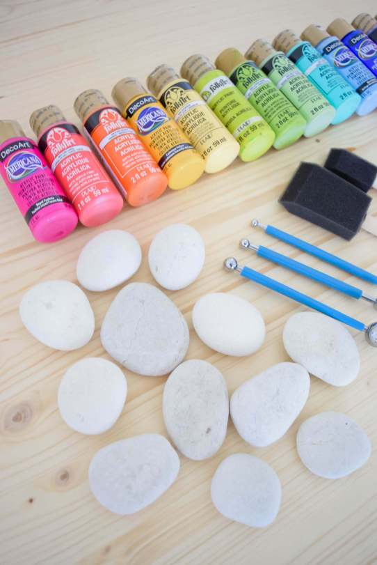 rock painting supplies