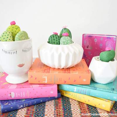 Easy Rock Painting Ideas + Cactus Rock Painting Tutorial
