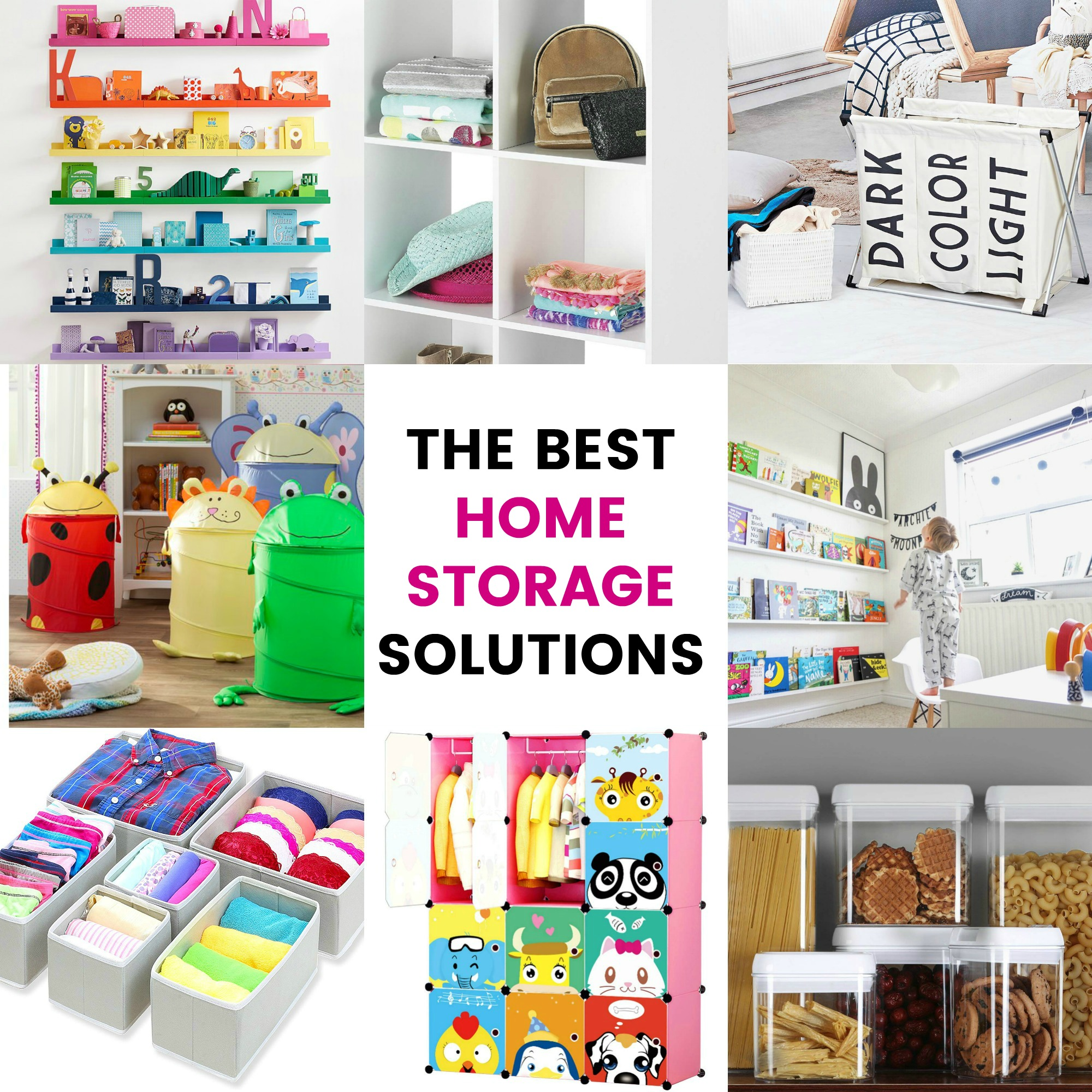 Home Storage Ideas: How to organize your house once and for all!